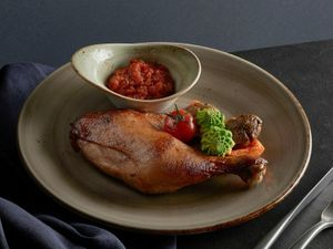 Oven Roasted Poulet